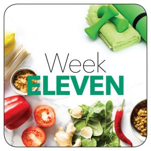 Kick-start plan: Week 11