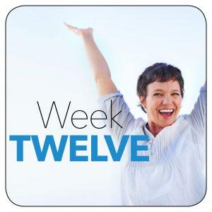 Kick-start plan: Week 12