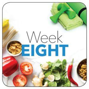 Kick-start plan: Week 8