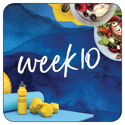 Kick-start plan: Week 10
