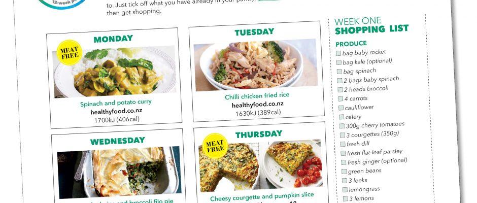 Kick-start meal plan: Week eleven