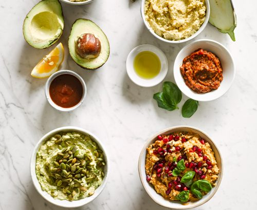 4 ways with hummus