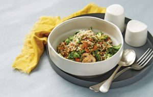 Buckwheat vegetable risotto