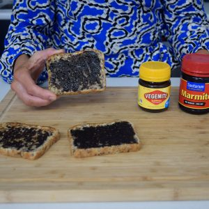 How much Marmite or Vegemite should you be spreading?