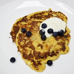 How to make 3 ingredient banana pancakes