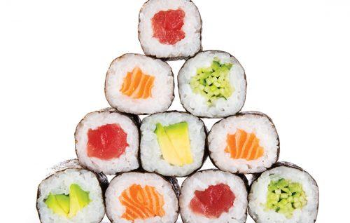 Shopping traps: Sushi
