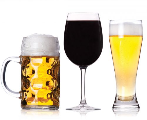 Beer before wine and you'll feel…?