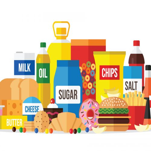 Pass on processed food