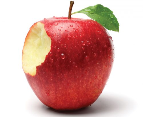 I'll have the apple please, with extra bacteria