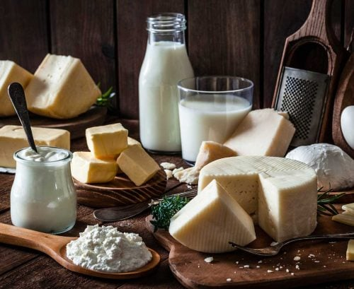 full fat dairy products