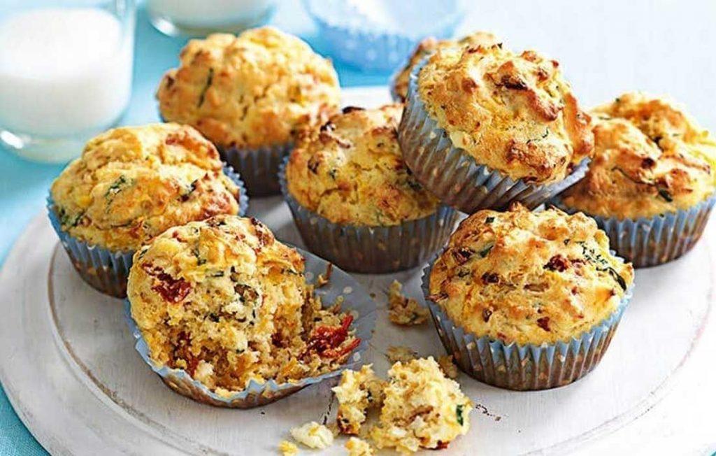 Gluten-free savoury muffins