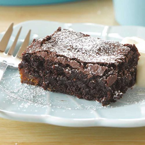 Chocolate and fig brownies
