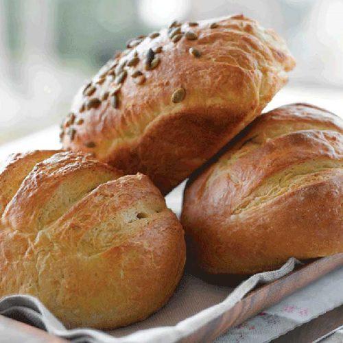 No-salt bread loaf