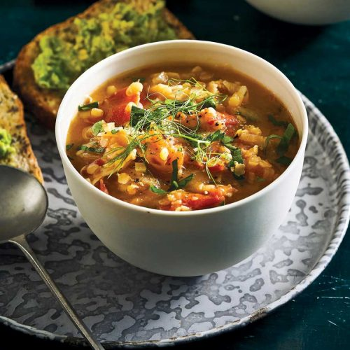 Vegetarian soup recipes to warm the soul