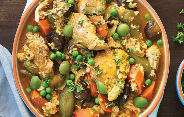 Chicken casserole – Spanish-style