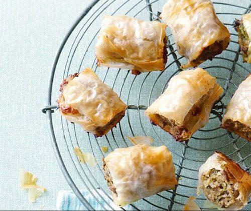 Sausage rolls made healthier