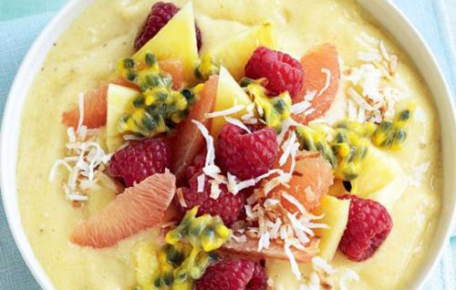 Tropical 'stay-cation' recipes