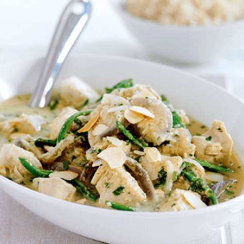 Chicken korma made healthier