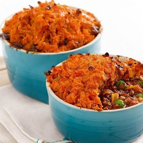 Indian-spiced cottage pies