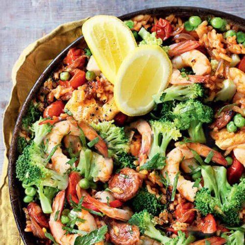 Easy paella
