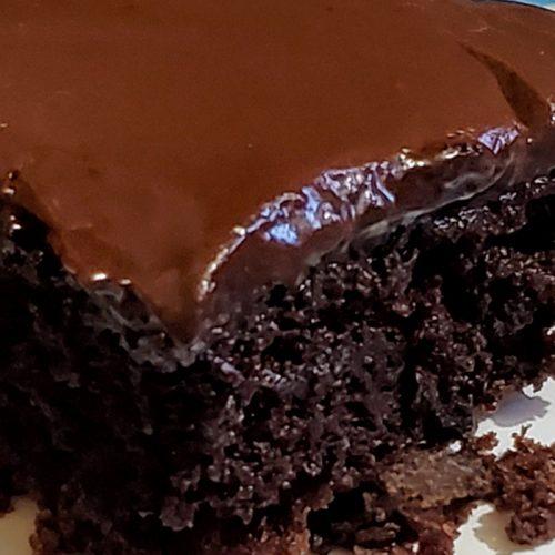 Gluten-free Mississippi mud cake