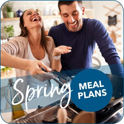 Spring weeknight meal plans