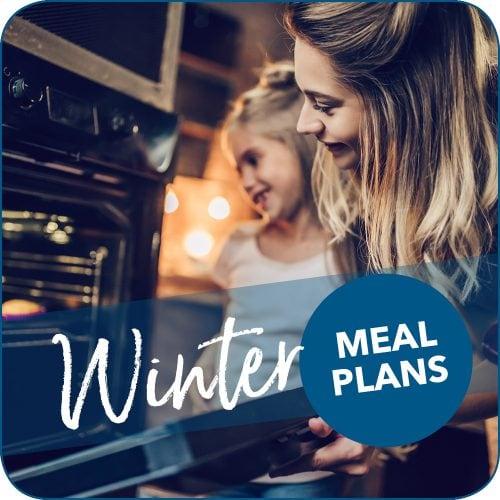 Winter weeknight meal plans