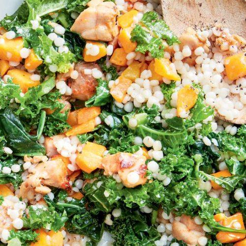 Chilli-lime chicken couscous