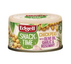 can of flavoured chickpeas