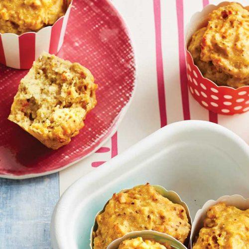 Orange chia muffins