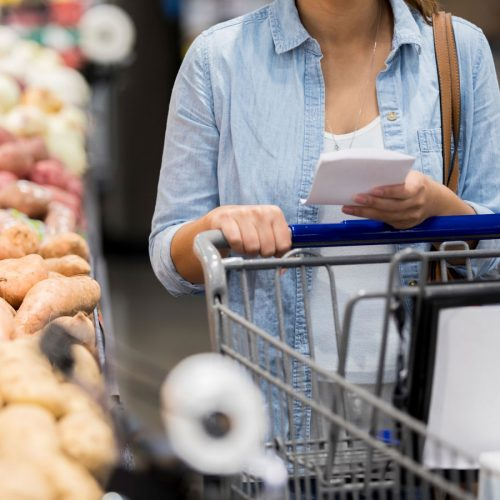 How to make a shopping list from a recipe